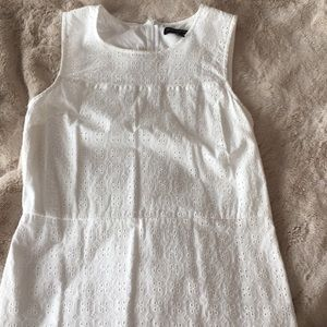 Banana Republic Factory | Eyelet Dress, White, 8